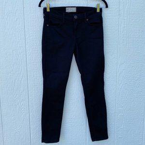 Free People Skinny Jeans Black Size 26
